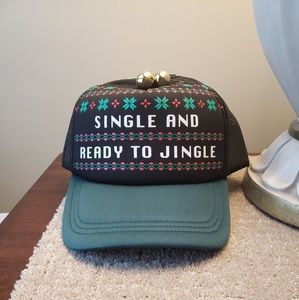 "Accessories - ☆SALE☆Cute Holiday Hat""Single and Ready To Jingle"""